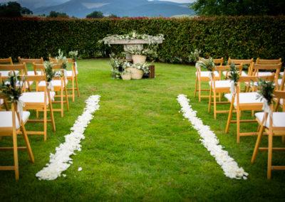 Ceremonia Jardin Arcos de Quejana